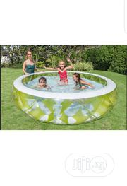 "Intex Swim Center Pinwheel Inflatable Pool 90"" X 90"" X 22"",-ages 6+ 