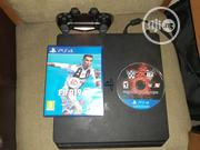 UK Used Ps4 Slim With One Pad, FIFA 19 CD And Complete Accessories | Video Game Consoles for sale in Lagos State, Lagos Mainland