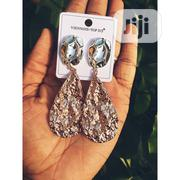 Stainless Steel Two-tone Women'S Drop Earring | Jewelry for sale in Lagos State, Ipaja