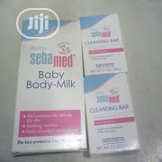 Sebamed Baby Body Milk (200ml) And Baby Bar (1) (100g)   Baby & Child Care for sale in Lagos State, Ikeja