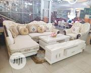 Royal L Shape Chair With Center Table and TV Stand | Furniture for sale in Lagos State