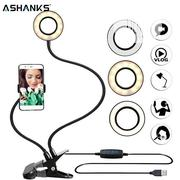 Photo Studio Selfie LED Ring Light With Cell Phone Mobile Holder | Accessories for Mobile Phones & Tablets for sale in Lagos State, Lagos Island