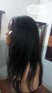 18 Inches 100% Peruvian Human Hair Wig   Hair Beauty for sale in Lagos State, Ojodu