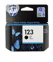 HP 123 Black Original Ink Cartridge | Accessories & Supplies for Electronics for sale in Lagos State, Ikeja