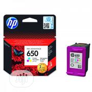 HP Ink Cartridge 650 Tri-colour | Accessories & Supplies for Electronics for sale in Lagos State, Lagos Island