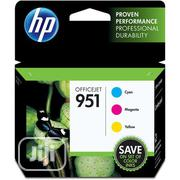 HP 951 Officejet Cyan/Magenta/Yellow Ink Cartridge | Accessories & Supplies for Electronics for sale in Lagos State, Lagos Island