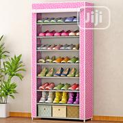 Shoe Rack With Fabric Cover - 8 Tiers | Furniture for sale in Oyo State, Ido