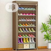 Shoe Organizer With Fabric Cover -8 Tiers | Home Accessories for sale in Oyo State, Ido