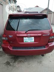 Toyota Highlander Limited V6 4x4 2006 Red | Cars for sale in Rivers State, Port-Harcourt