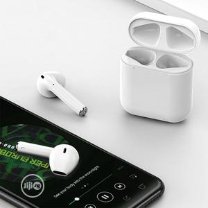 2020 White I12 Bluetooth 5.0 Touch Earphones For iPhone & Android