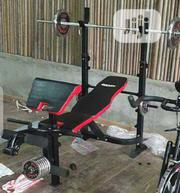 Commercial Weight With 45kg Plate | Sports Equipment for sale in Lagos State, Surulere