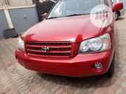 Toyota Highlander 2003 Red   Cars for sale in Lagos State, Alimosho