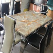 Classic Marble Dining Table | Furniture for sale in Lagos State, Ojodu