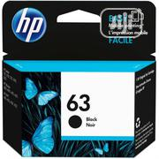 Original HP 63 Black Ink Cartridge | Accessories & Supplies for Electronics for sale in Lagos State, Lagos Island