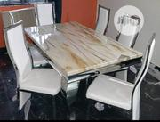 New Top Class Marble Dining Table Table By-6 | Furniture for sale in Lagos State, Ajah