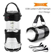 New 2-in-1 LED Camping Lantern Portable Outdoor Flashlight (1 Pack) | Kitchen & Dining for sale in Lagos State, Ikeja