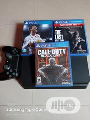 Playstation 4 With One Pad and 3 Games   Video Games for sale in Lagos State, Oshodi-Isolo