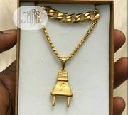 Gold Choker Chains and Pendant | Jewelry for sale in Lagos State, Surulere