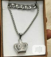Crown Pendant With Cuban Coker | Jewelry for sale in Lagos State, Surulere