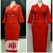 New Female Office Vneck Gown | Clothing for sale in Lagos State, Ibeju