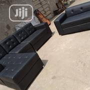 Leather L Shape Sofa | Furniture for sale in Lagos State, Ojo