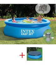 Intex Pool Easy 305 X 76 Cm SET WITH FILTER PUMP + Cover 28122 | Sports Equipment for sale in Lagos State, Ojo