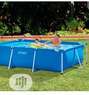 Intex 28272 Metal Frame Rectangular Pool 3834 L, 300 X 200 X 75 Cm | Sports Equipment for sale in Lagos State, Ojo