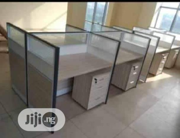 New 4-Seater Office Workstation Table