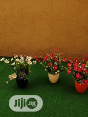 Fake Mini Potted Flowers For Lounges And Pubs Decorations | Landscaping & Gardening Services for sale in Lagos State, Ikeja