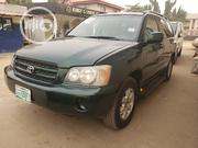 Toyota Highlander 2003 Green | Cars for sale in Lagos State, Ajah