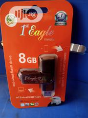 Original 8gb 1st Eagle OTG Flash Drive | Computer Accessories  for sale in Oyo State, Ogbomosho North