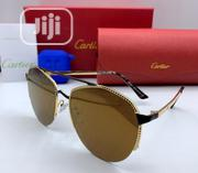 Cartier Dark Shades Sunglasses - Brown | Clothing Accessories for sale in Lagos State, Lagos Island