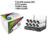 Wireless 8 Channels Nvr Wifi CCTV Kits | Security & Surveillance for sale in Lagos State, Ikeja