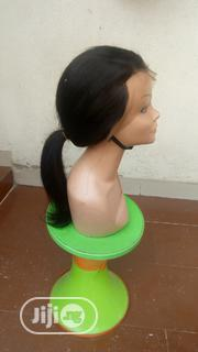 18 Inches Frontal Straight Human Hair Wig | Hair Beauty for sale in Lagos State, Ojodu