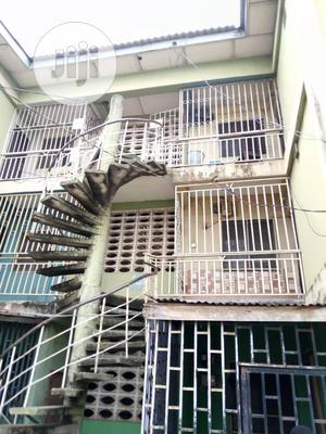 Terrace Flat and Shop at Low Cost Housing Estate Agege