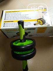 Double Wheel Exercise Tummy Trimmer | Sports Equipment for sale in Lagos State, Surulere