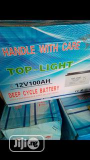12v 100ahs Top-Light Battery | Solar Energy for sale in Lagos State, Ojo