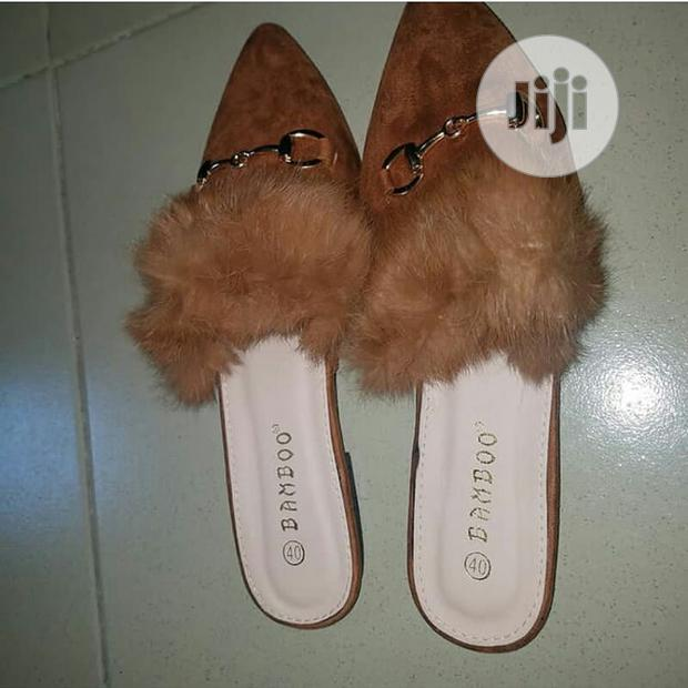 Archive: Brown Fancy Slippers