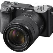 Sony Alpha A6400 Mirrorless Digital Camera With 18-135mm Lens Kit | Photo & Video Cameras for sale in Lagos State, Ikeja