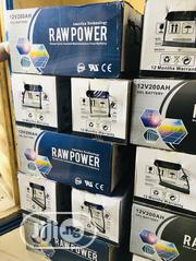 200ah 12volts Raw Deepcycle Battery | Electrical Equipment for sale in Lagos State, Ikoyi