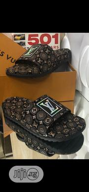 Louis Vuitton Slippers Original | Shoes for sale in Lagos State, Surulere