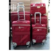 Swiss Polo 5 Set Of Trolley Luggage Bag - Red | Bags for sale in Enugu State, Enugu