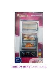37 Litres 3 Step Electric Oven - Baking Grilling and Toasting | Kitchen Appliances for sale in Lagos State, Lagos Island