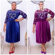 Stoned and Beaded Pleated Dress Turkish | Clothing for sale in Lagos State, Lagos Island