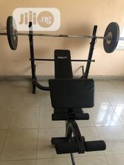 Body Fit Weight Bench Press Stand With Combine 50kg Weight Lift. | Sports Equipment for sale in Abuja (FCT) State, Gwarinpa