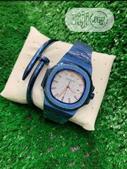 Patek Philippe Blue Watch With Bracelet | Jewelry for sale in Lagos State, Agboyi/Ketu