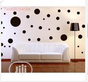 Burgundy Polka Dot Mix Wall Sticker | Home Accessories for sale in Oyo State, Ibadan