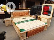 6×6 Bed Frame With Imported Orthopedic Spring Mattress | Furniture for sale in Lagos State, Ojo