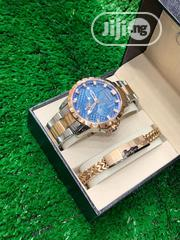 Cartier Silver And Gold Watch With Bracelet | Watches for sale in Osun State, Ife