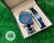 Cartier Silver Watch With Blue Bracelet | Watches for sale in Osun State, Ife